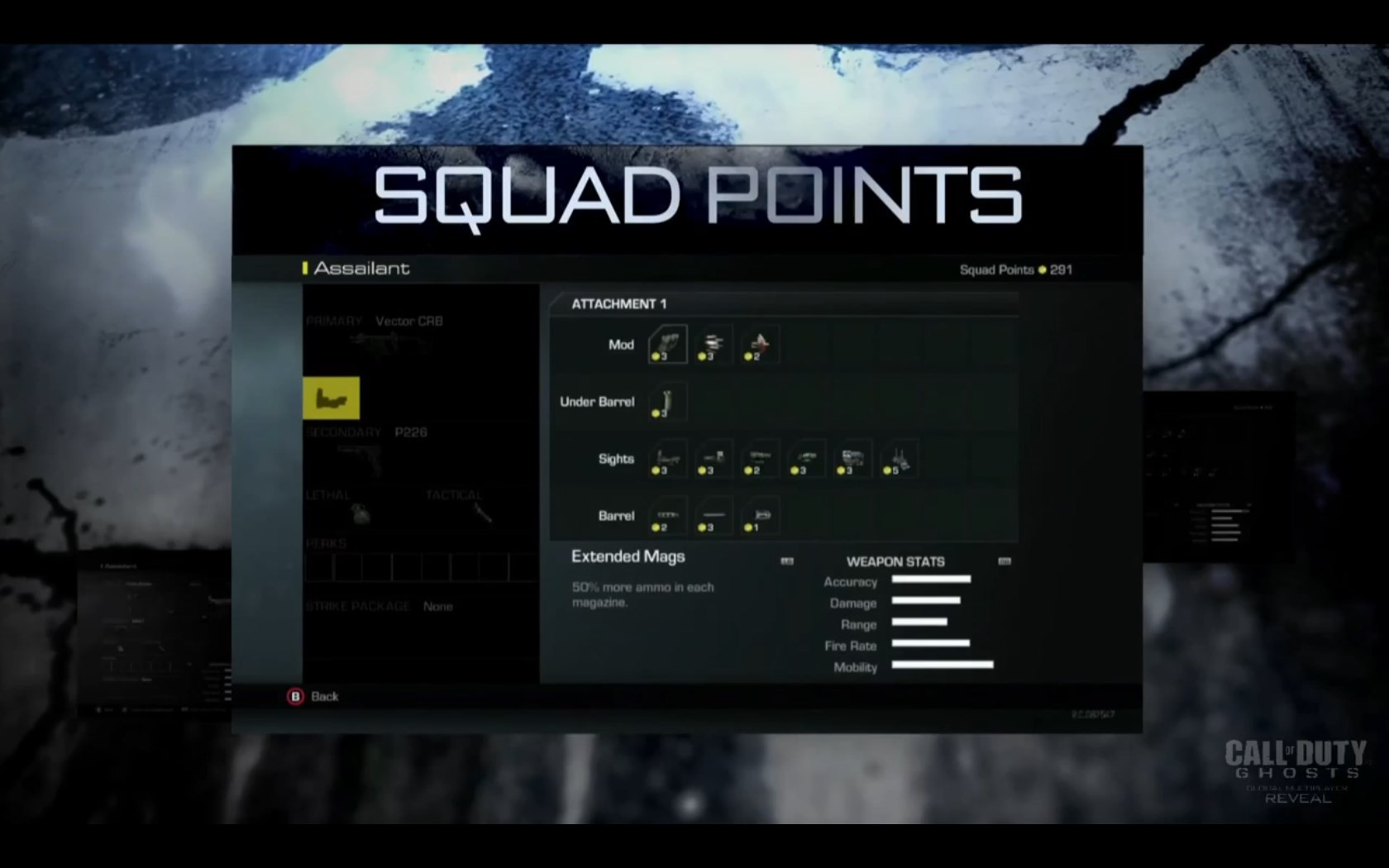 Ghosts - Squad Points