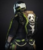 Pack d'exosquelette Panda