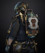 Pack d'exosquelette Steampunk