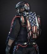 Pack d'exosquelette États-Unis
