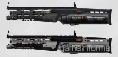 Plasma-powered Rifle - Advanced Warfare