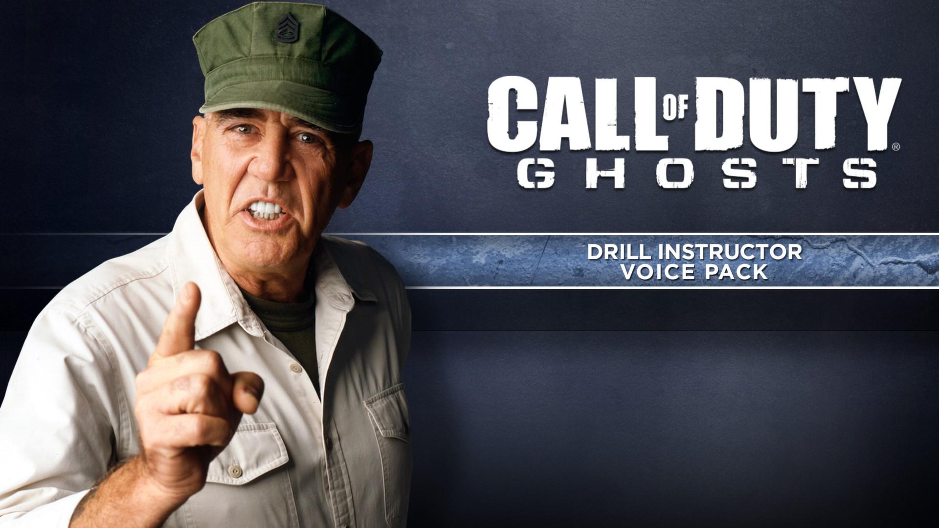 Un instructeur de drill